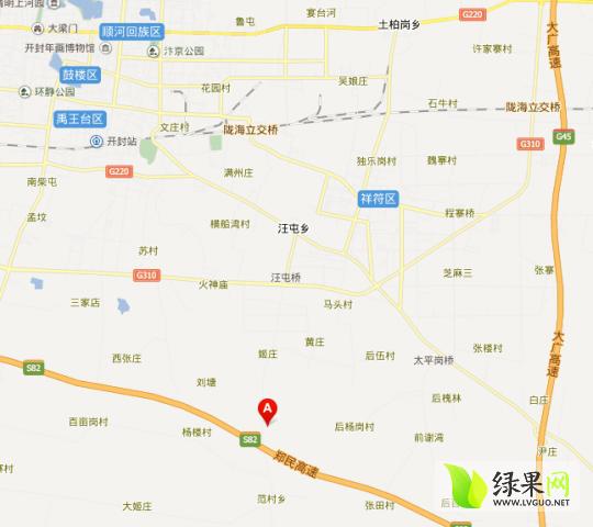 河南开封兰考县地图_开封县行政地图展示_地图分享