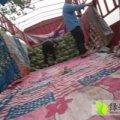 安徽砀山京欣西瓜成熟度高,大红瓤